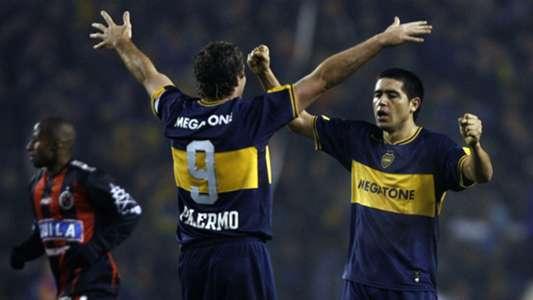"""Palermo habló de su relación con Riquelme: """"Jugar a su lado me hizo ser el jugador que fui"""""""