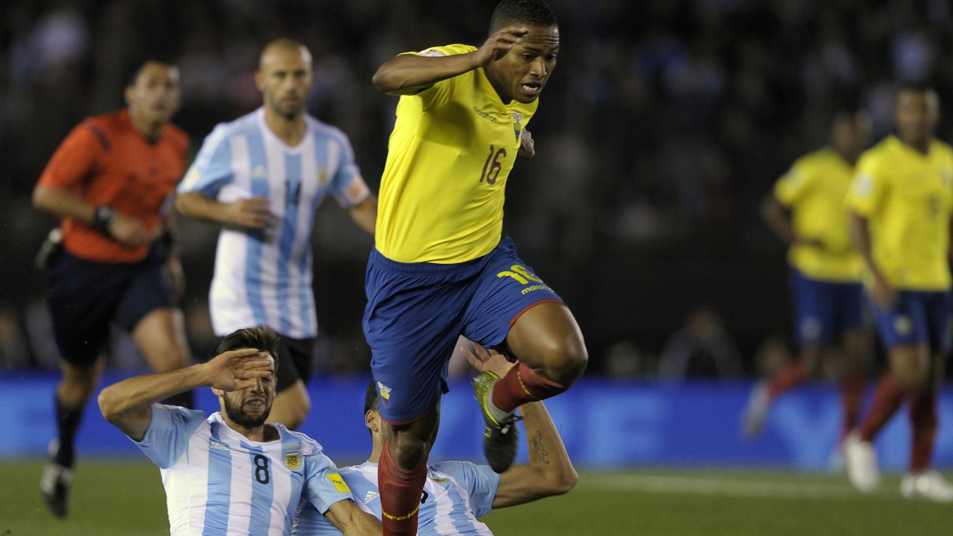Antonio Valencia Argentina Ecuador Eliminatorias 2018