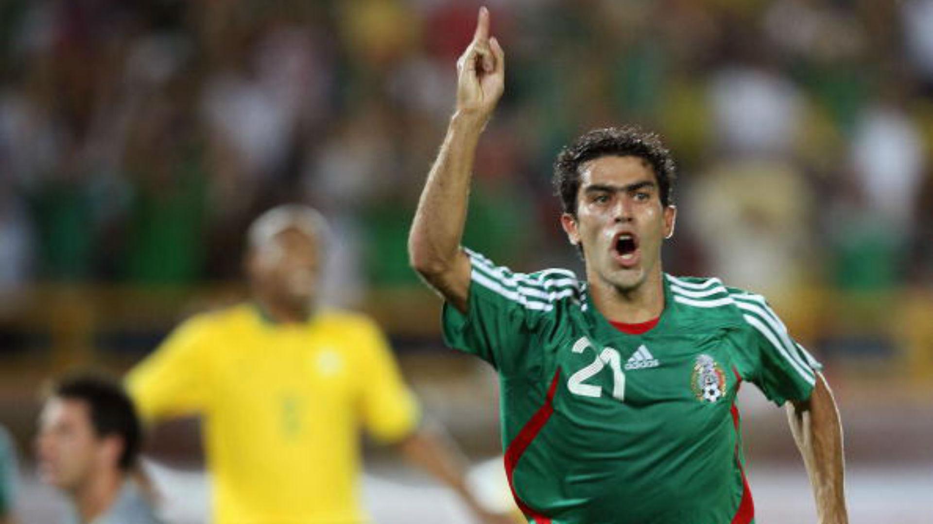 Nery Castillo Mexico Copa America 2007 Brasil