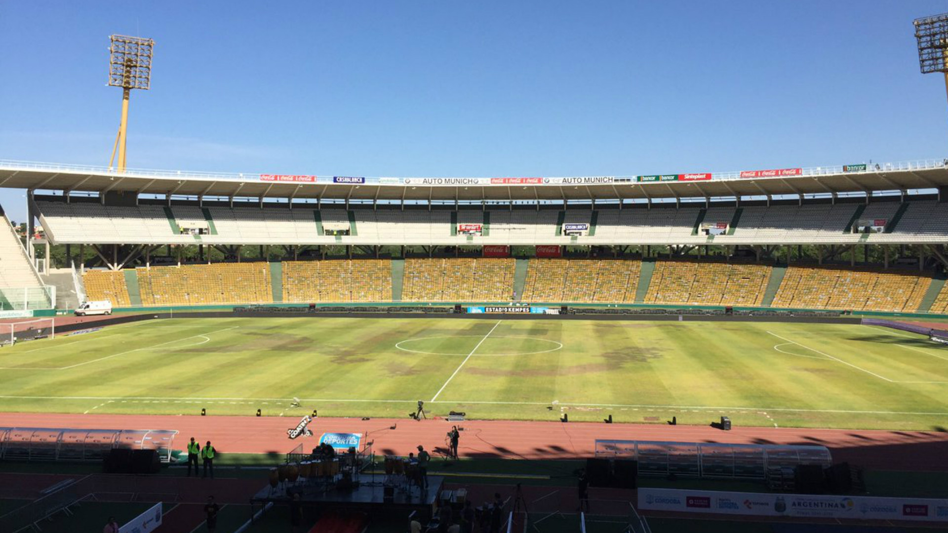 Estadio Kempes Copa Argentina 15122016