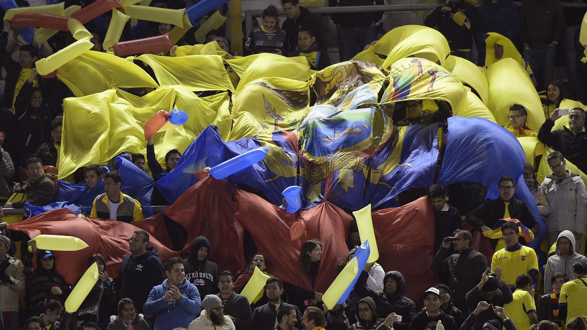 Argentina Ecuador fans Eliminatorias 2018