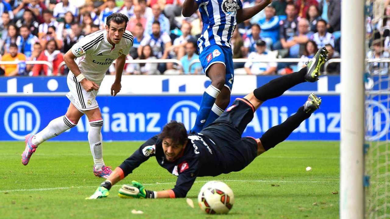 Gareth Bale German Lux Deportivo La Coruña Real Madrid La Liga 20092014