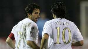 Pirlo Del Piero Italy 2006