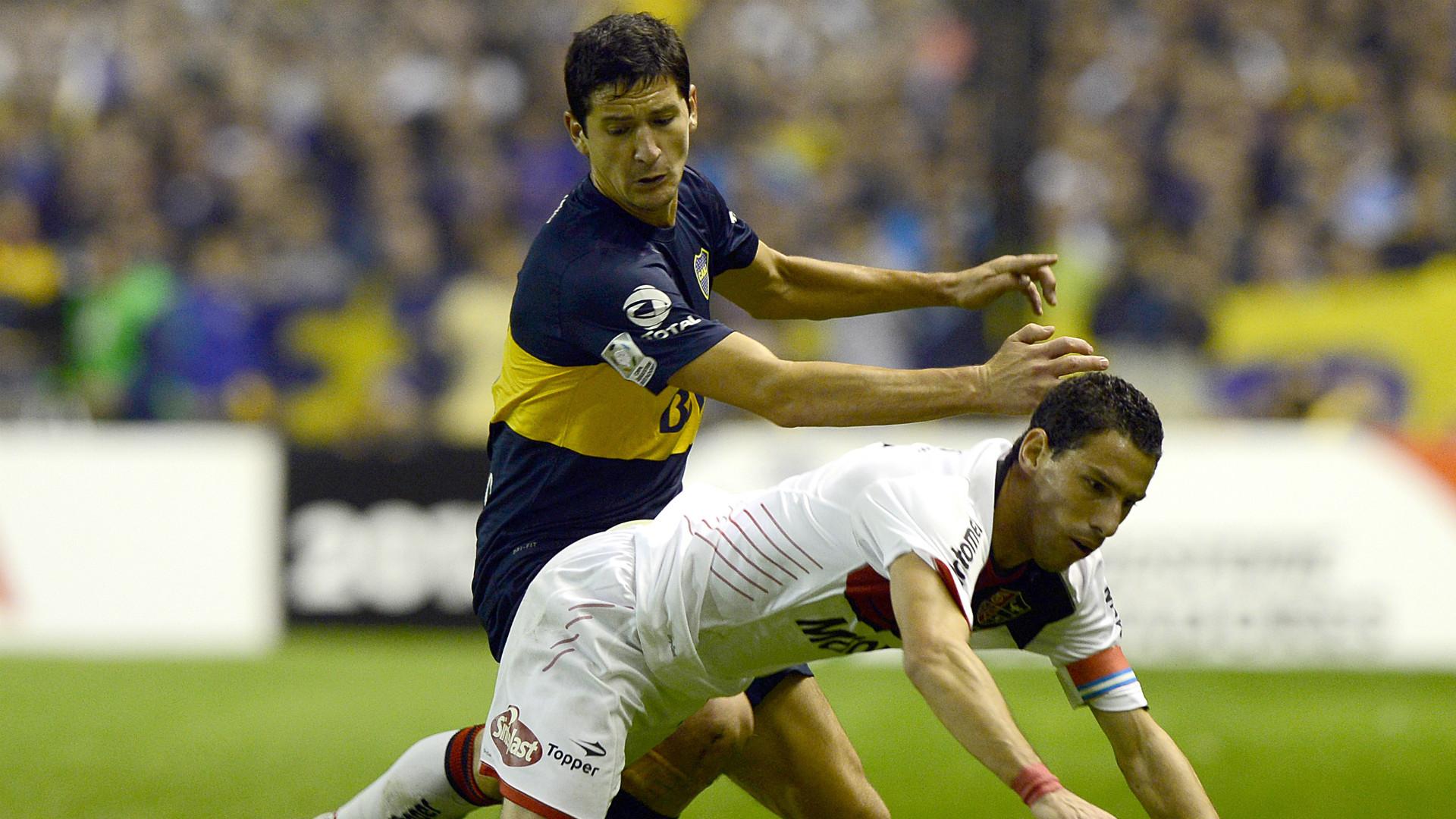 Guillermo Burdisso Maxi Rodriguez Boca Juniors Newells Copa Libertadores 2013