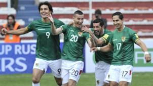 Marcelo Martins Pablo Escobar Walter Flores Marvin Bejarano Bolivia Ecuador WC Qualifiers 11102016