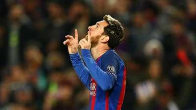 Messi Barcelona Borussia Monchengladbach Champions League 6122016
