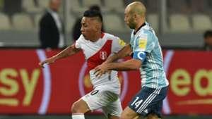 Mascherano - Peru – Argentina Eliminatorias Sudamericanas 06102016