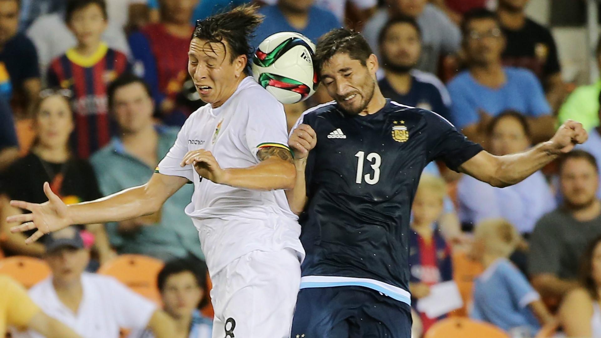 Milton Casco Argentina Bolivia Friendly Match 04092015