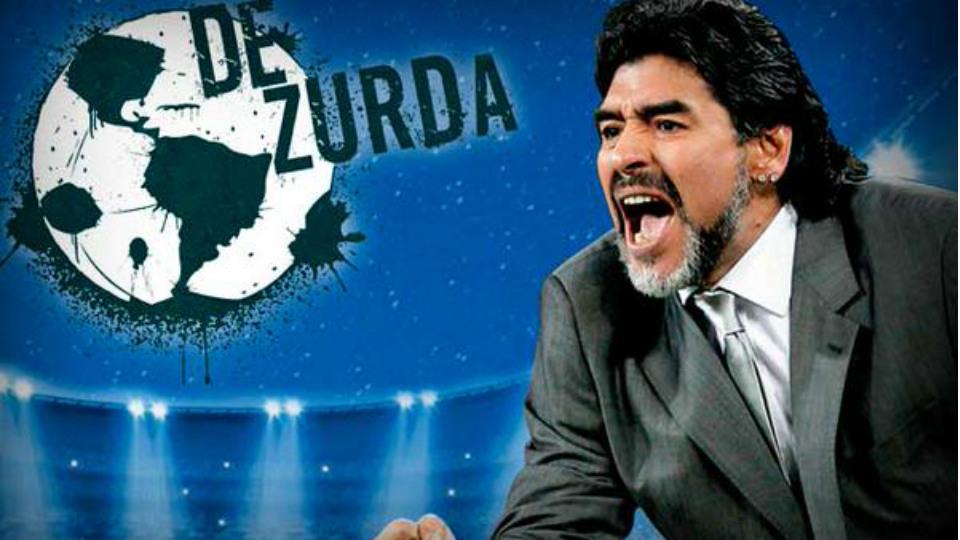 Maradona programa De Zurda