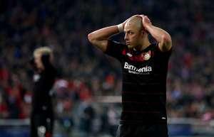 Javier Chicharito Hernandez Bayer Leverkusen Bundesliga 2016/2017