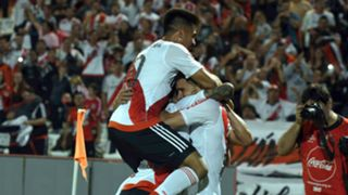 Gonzalo Martinez Lucas Alario Godoy Cruz River Plate Primera Division Argentina 02042017