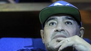 Diego Maradona Final Copa Davis 2016