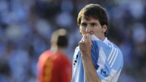 Lionel Messi Argentina Spain 2010