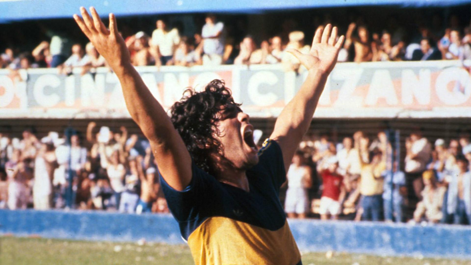 Maradona Boca 1981