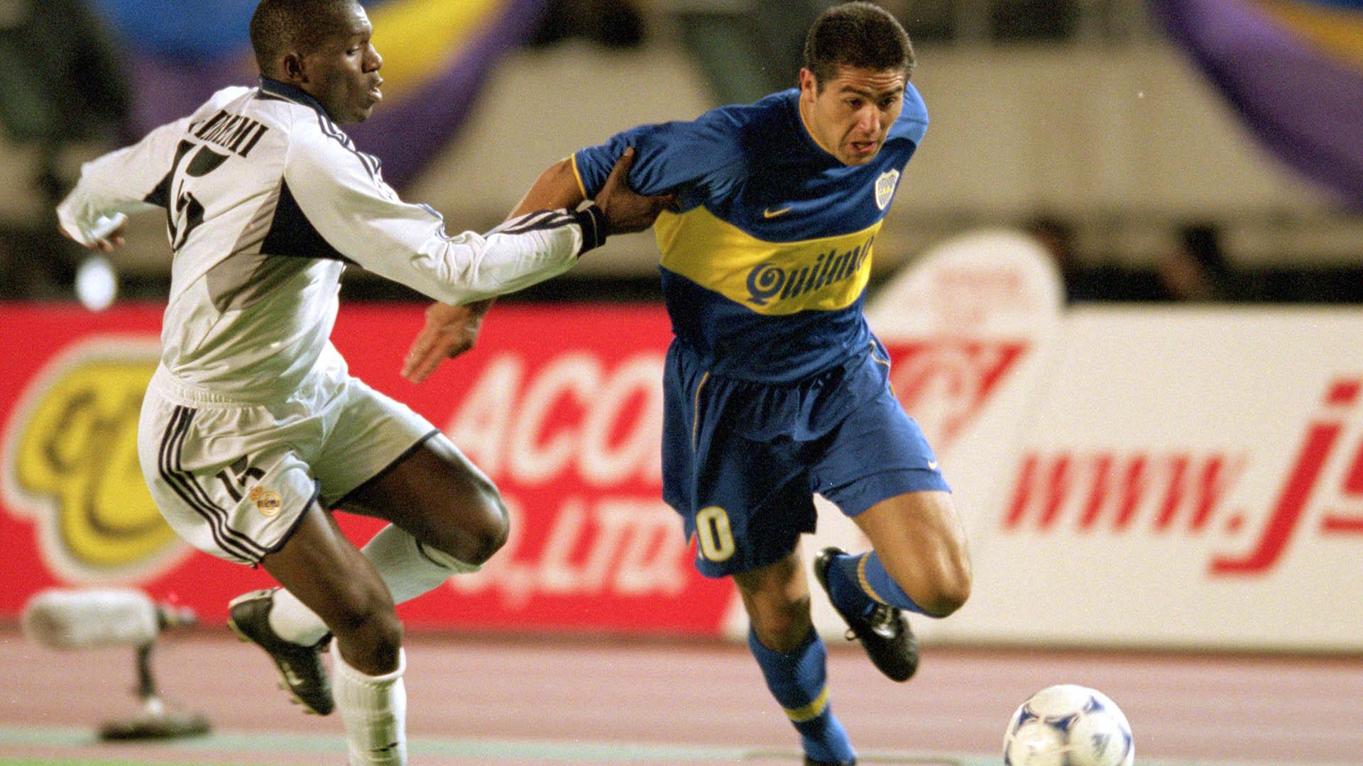 Juan Roman Riquelme Boca Real Madrid 2000