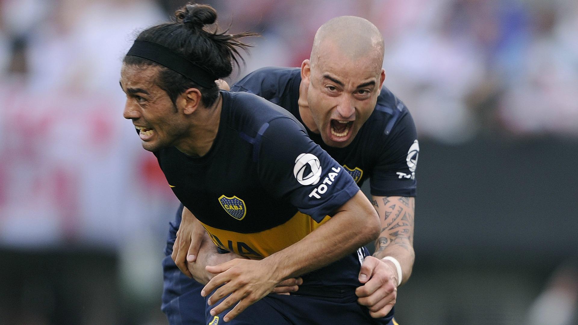 Waler Erviti y Santiago Silva Boca Juniors 2012