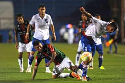 nacional montevideo uruguay vs. palestino copa libertadores