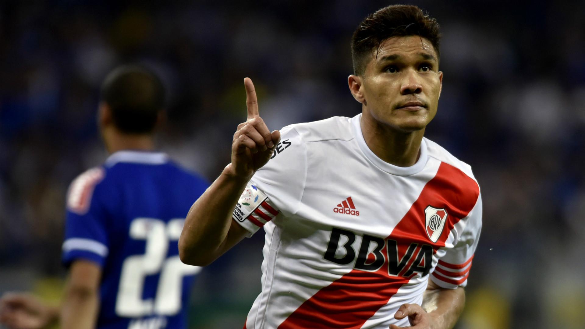 Teofilo Gutierrez River Plate Copa Libertadores 2015