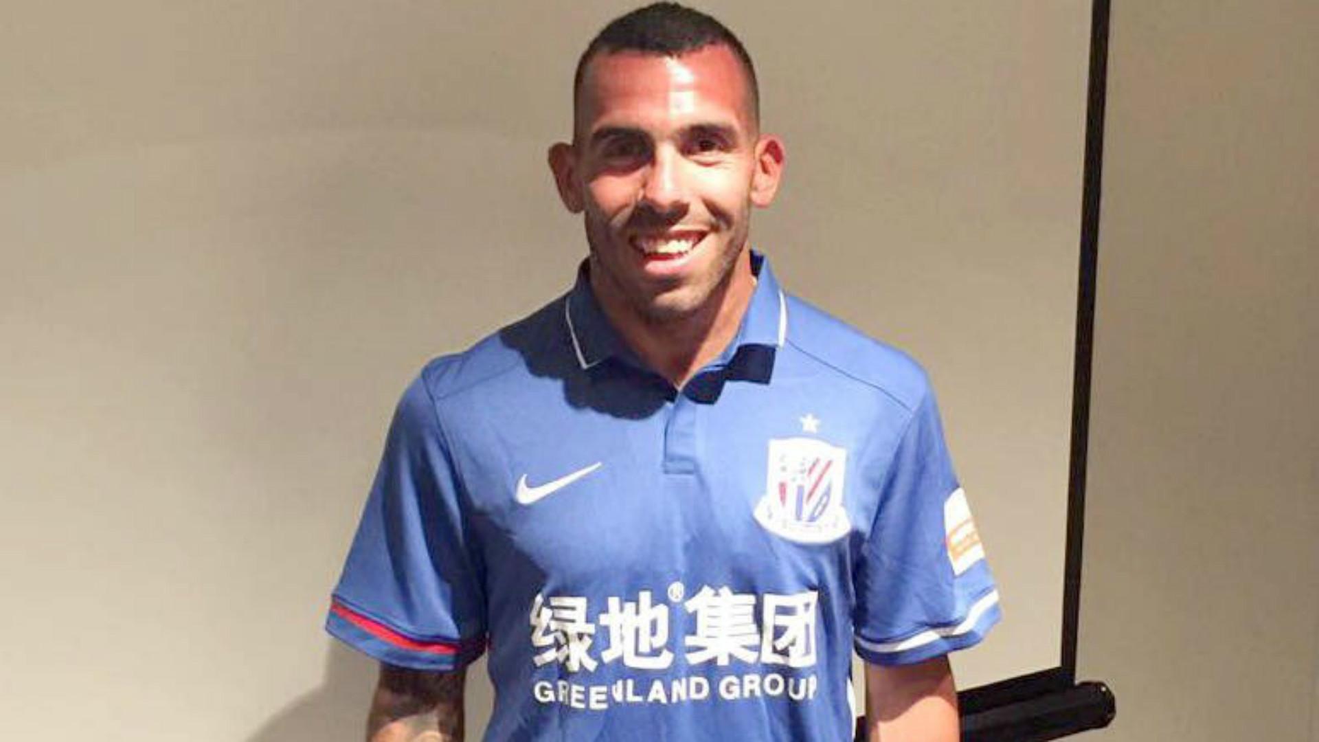泰維斯投上海申花成全球最高薪球員