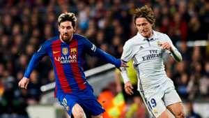 Lionel Messi Luka Modrid Real Madrid FC Barcelona El Clásico 2016/2017