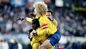 Carlos Valderrama Argentina Colombia 5-0