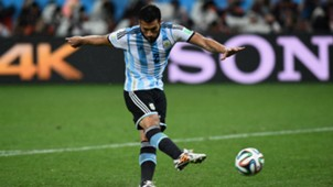 Ezequiel Garay Argentina Netherlands FIFA World Cup 2014