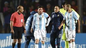 Lionel Messi injury Argentina Honduras 27052016