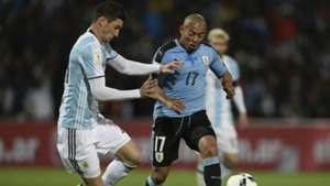 Lucas Alario - Argentina - Uruguay Eliminatorias Sudamericanas 01092016