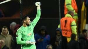 Sergio Romero Manchester United Rostov Europa League 16032017