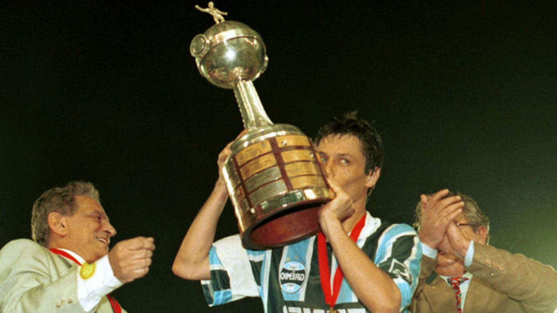 Gremio, campeón de la Copa Libertadores 1995