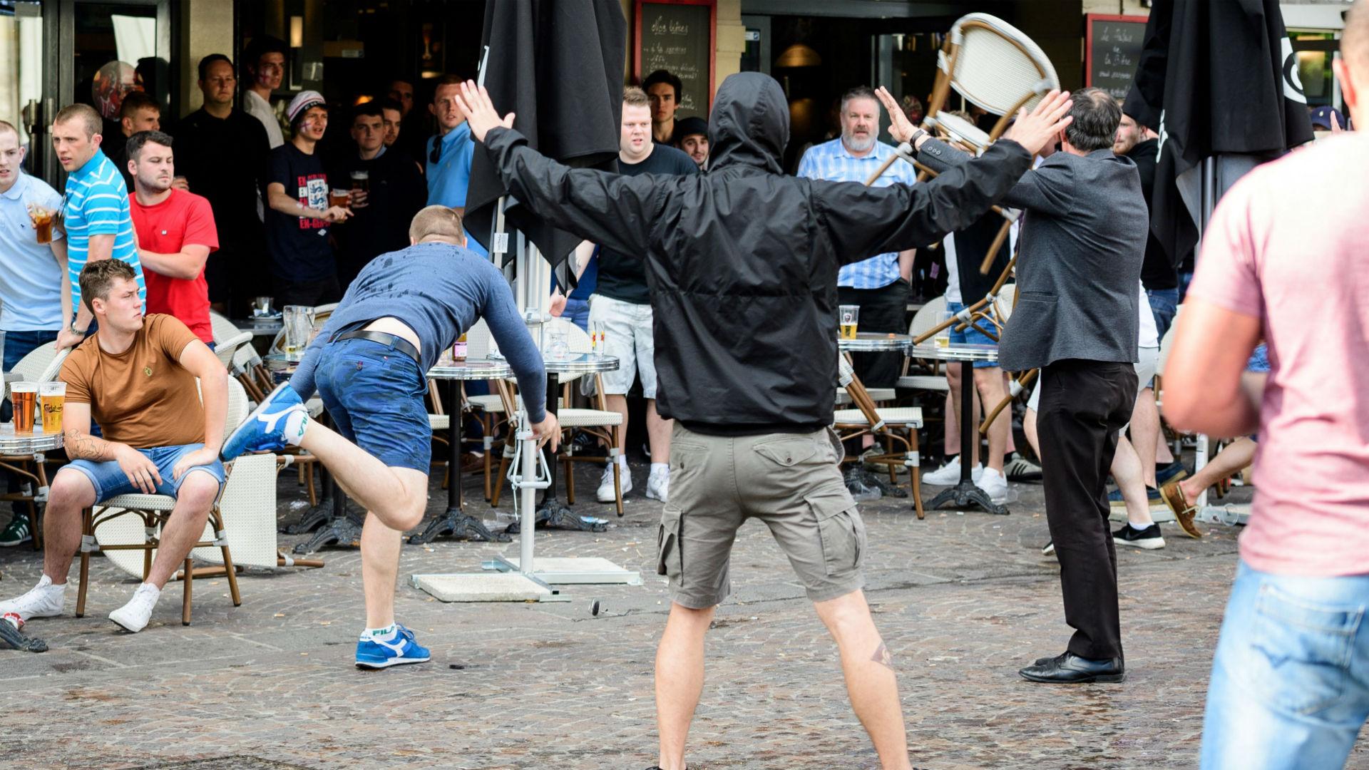 Hooligans Eurocopa 2016