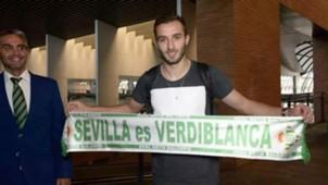 Germán Pezzella, su llegada a Betis