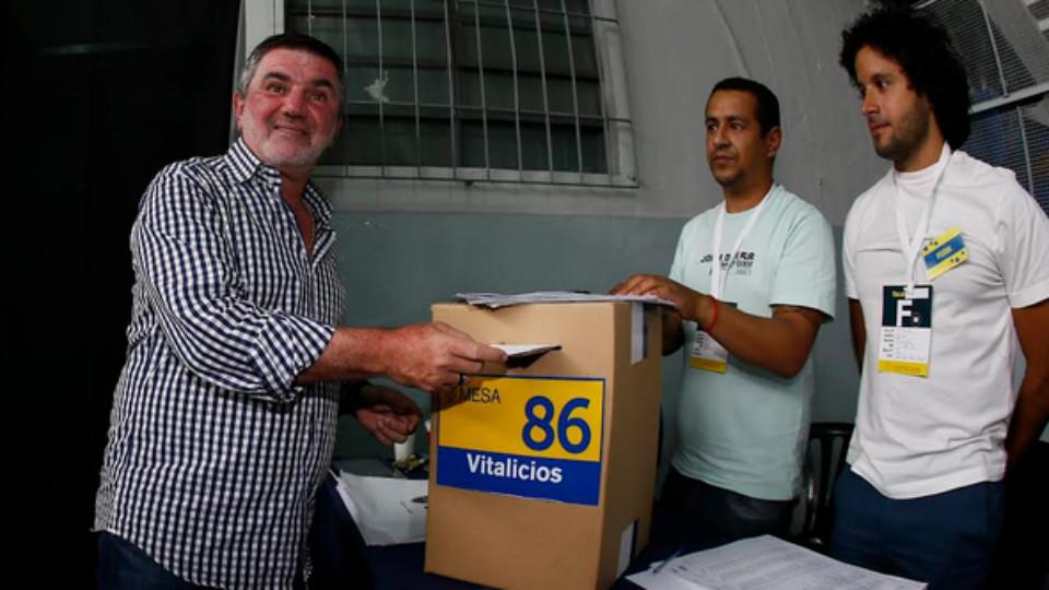 Elecciones a presidente en Boca 06122015