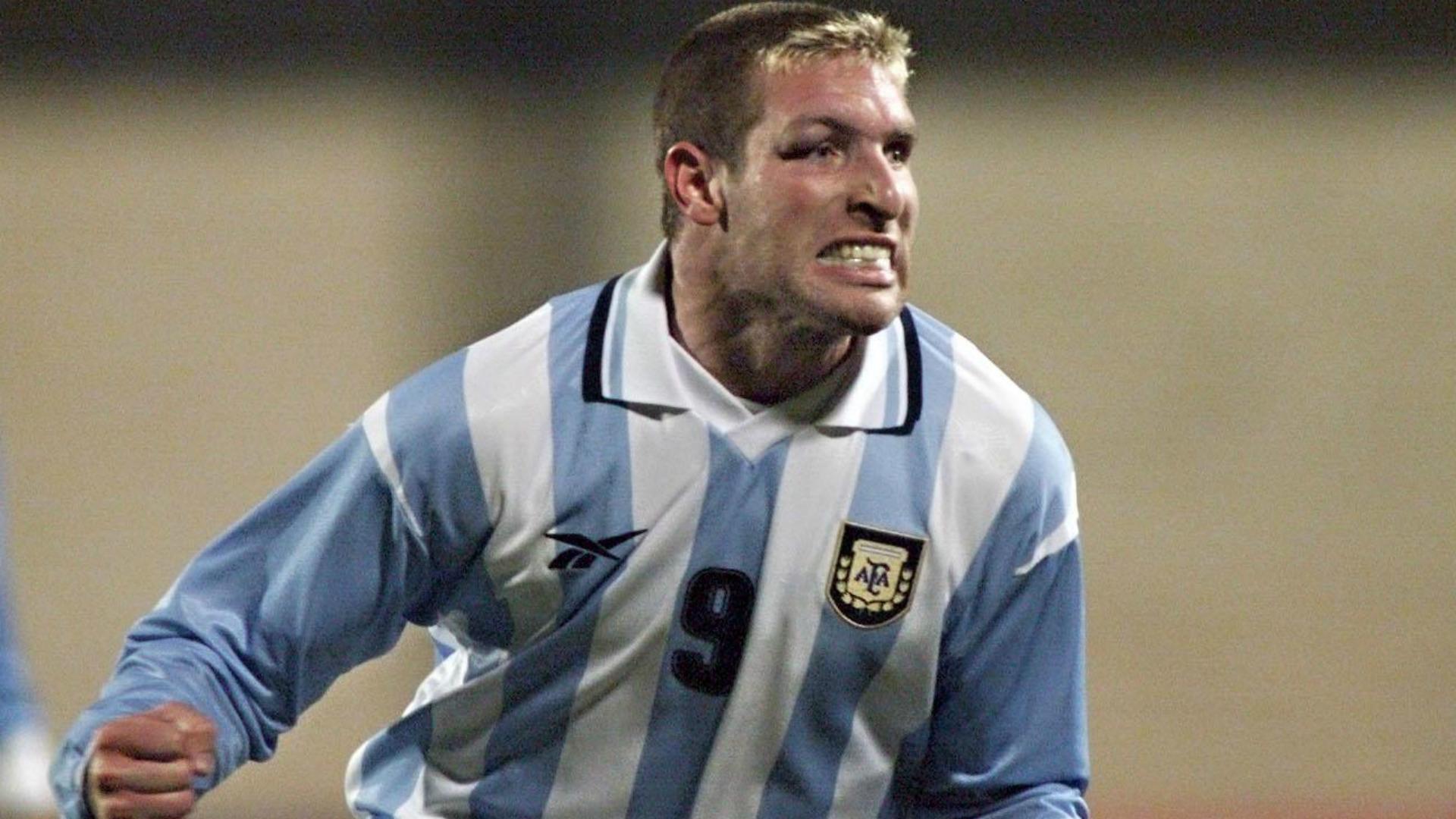 Martin Palermo Argentina Uruguay Copa America 07071999