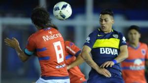 Martin Galmarini Cristian Pavon Tigre Boca Juniors Campeonato de Primera Division 02102016