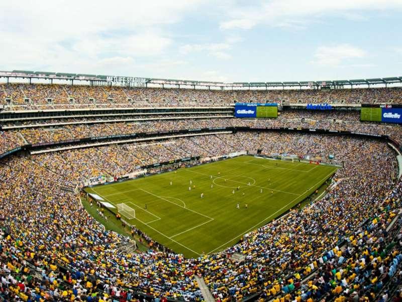 Palco da final da Copa América Centenária, disputada em 2016, é divulgado