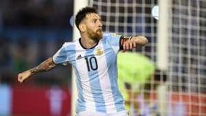 Lionel Messi Argentina Chile Eliminatorias 240317