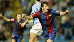 Lionel Messi Barcelona Celta de Vigo La Liga 200607