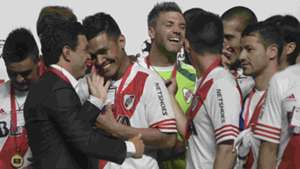 Marcelo Gallardo River Plate Recopa Sudamericana Nuevo Gasometro Buenos Aires 11022015