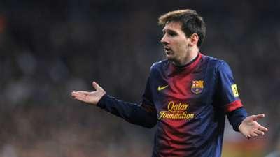 Lionel Messi Real Madrid Barcelona Copa del Rey Bernabeu 30012013