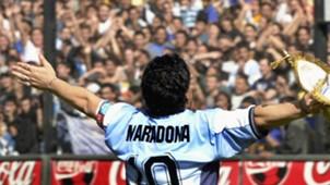 Diego Maradona last match 2001