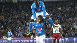 Harold Mosquera Millonarios vs Tolima