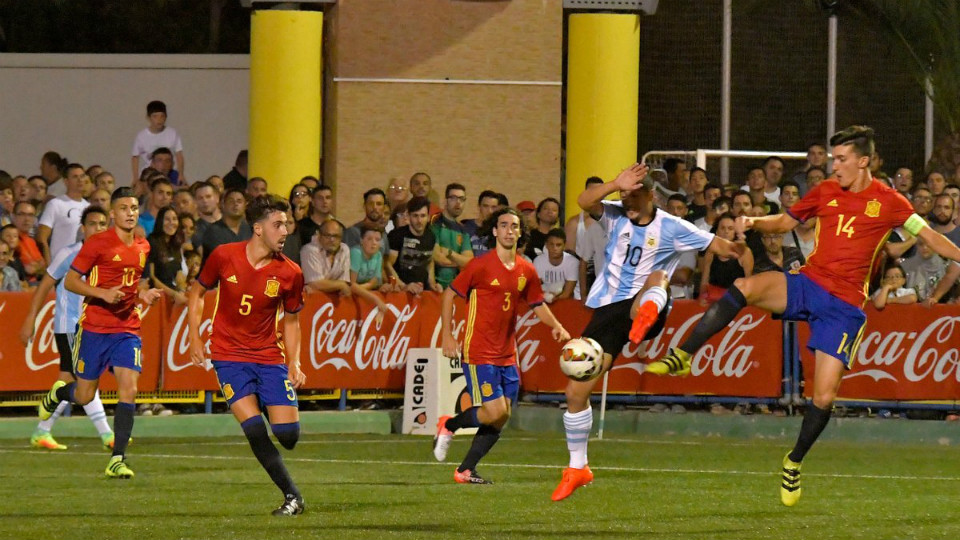 España Argentina Torneo L'Alcudia