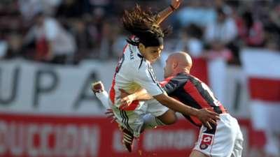 Radamel Falcao Garcia Sebastian Mendez River San Lorenzo Apertura 2008