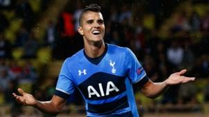 Erik Lamela Tottenham Monaco Europa League 01102015
