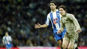 Lionel Messi Barcelona Debut Porto