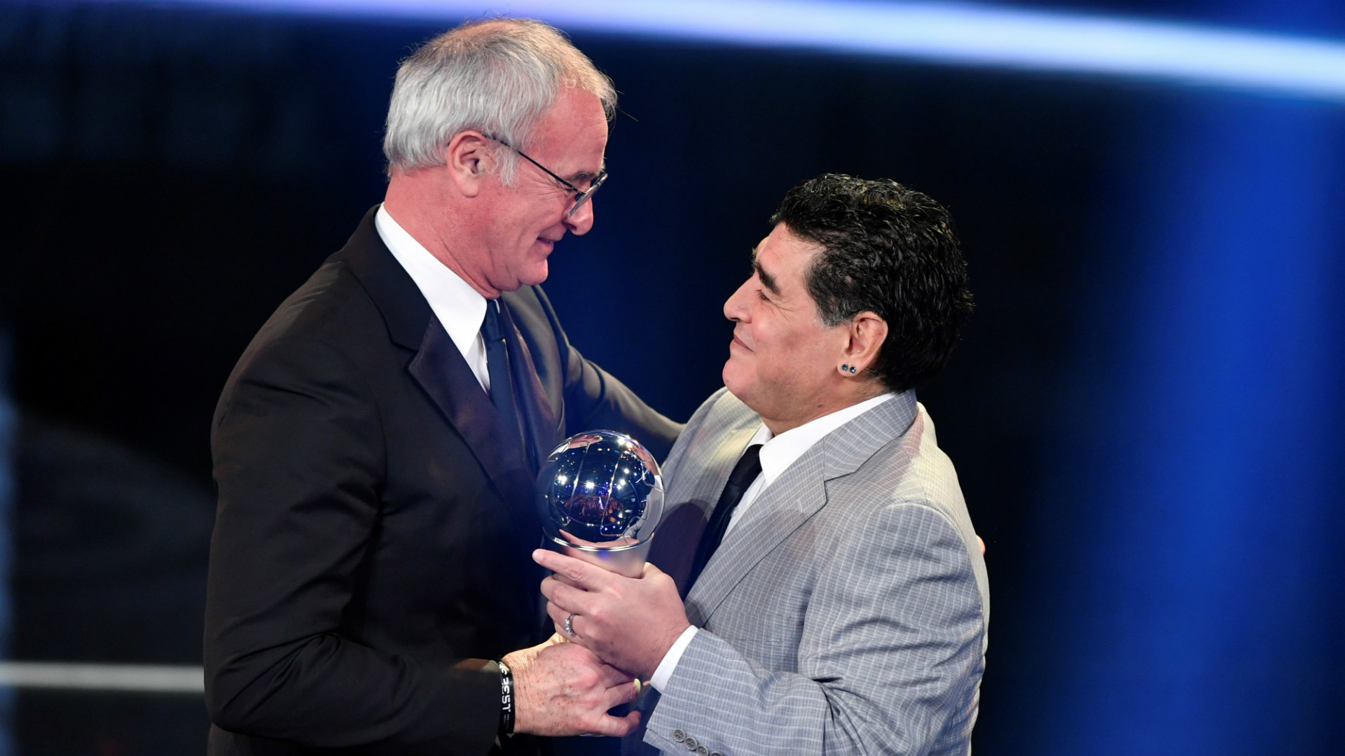 Maradona Ranieri The Best