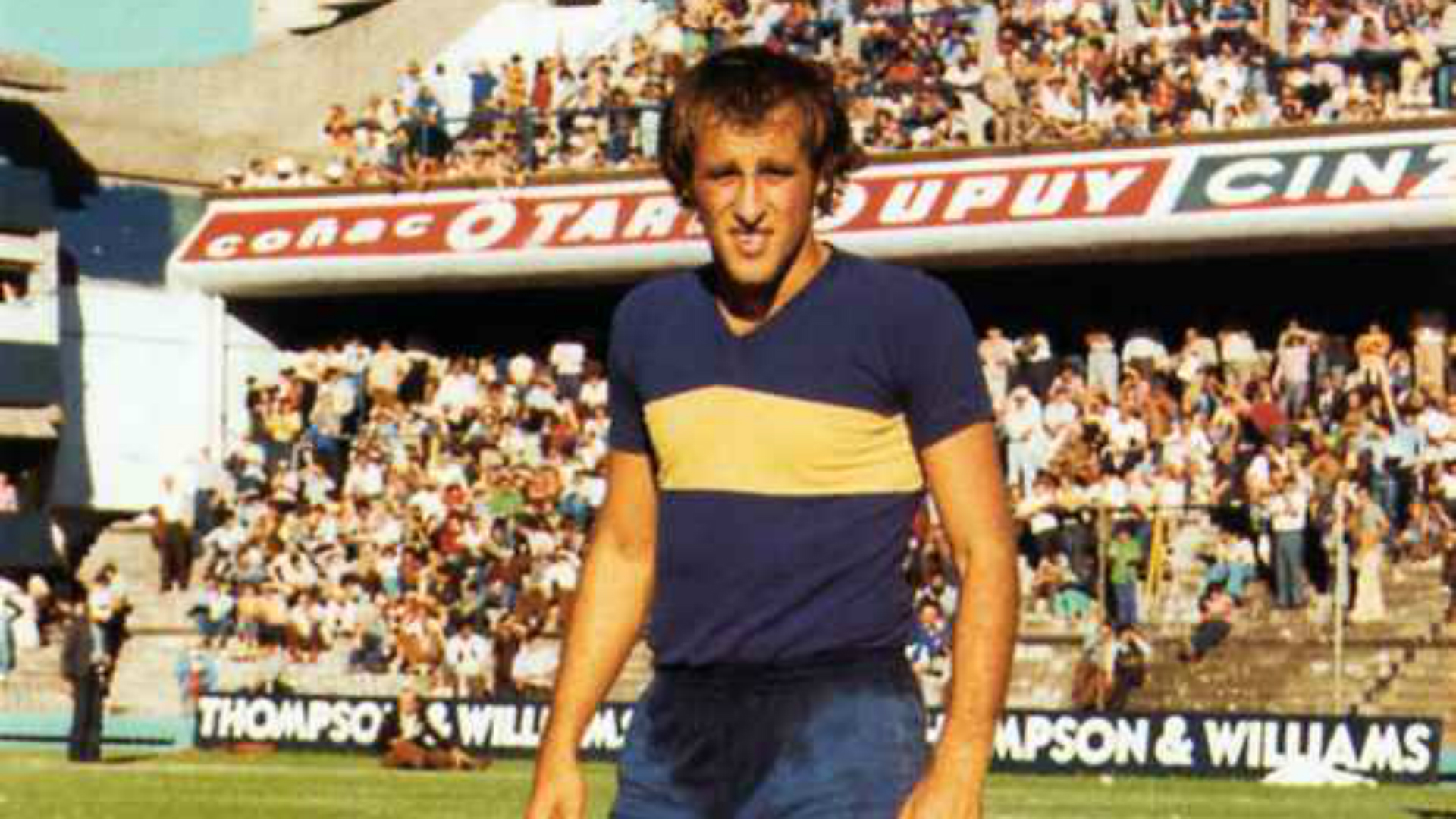 Roberto Mouzo Boca Juniors