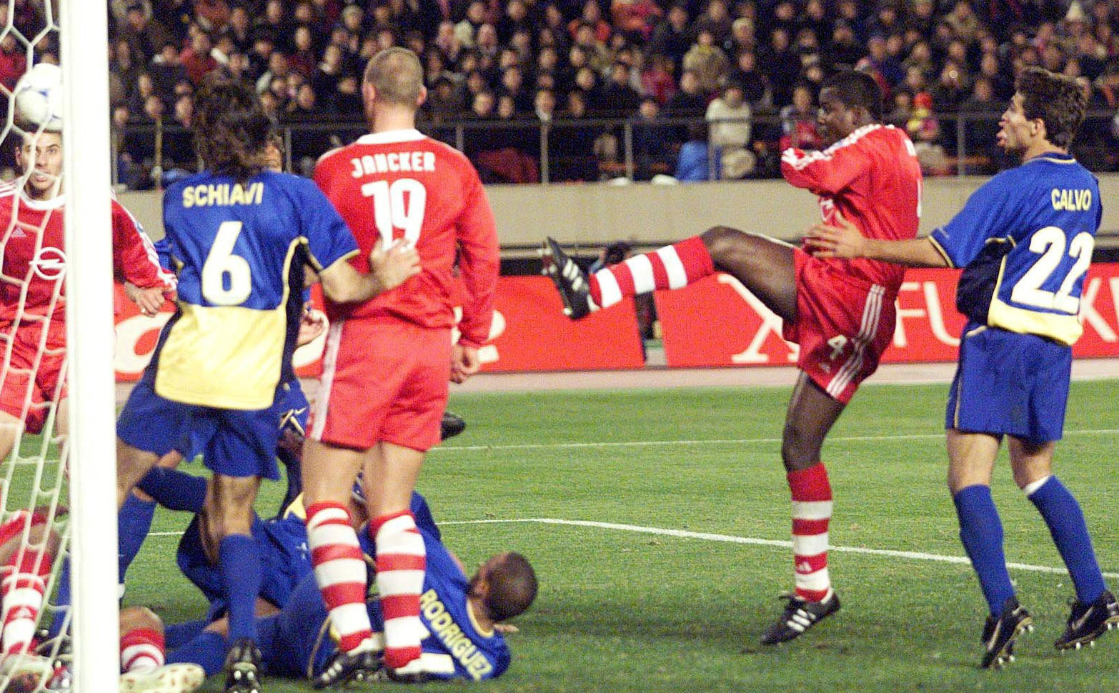 Boca Bayern Munich 2001
