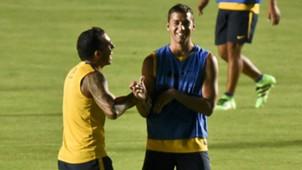 Carlos Tevez Fernando Tobio Boca Juniors